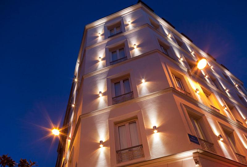 Façade Hôtel Apollon